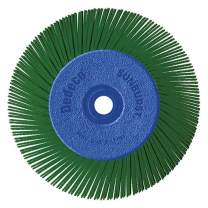 "Dedeco Sunburst - 6"" TA Radial Bristle Discs 1/2"" Arbor - Industrial Thermoplastic Rotary Cleaning and Polishing Tool, Extra-Coarse 50 Grit (1 Pack)"