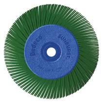 """Dedeco Sunburst - 6"""" TA Radial Bristle Discs 1/2"""" Arbor - Industrial Thermoplastic Rotary Cleaning and Polishing Tool, Extra-Coarse 50 Grit (1 Pack)"""