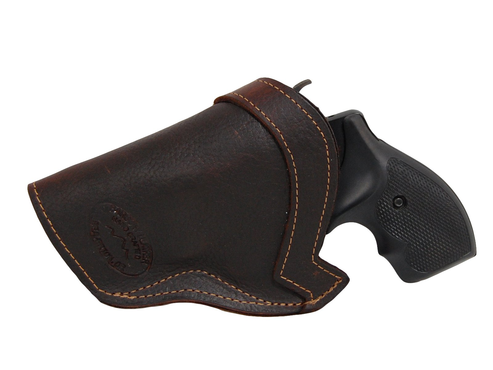 "Barsony New Brown Leather IWB Holster for 2"", Snub Nose .38 .357 Revolvers"