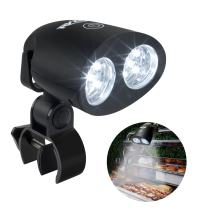 RVZHI Barbecue Grill Light, 360°Rotation for BBQ with 10 Super Bright LED Lights- Heat Resistant,100lm LED BBQ Light for Gas/Charcoal/Electric Grill-Battery Not Include