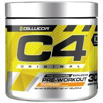 C4 Original Pre Workout Powder Orange Burst  Vitamin C for Immune Support   Sugar Free Preworkout Energy for Men & Women   150mg Caffeine + Beta Alanine + Creatine   30 Servings