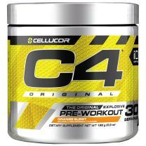 C4 Original Pre Workout Powder Orange Burst| Vitamin C for Immune Support | Sugar Free Preworkout Energy for Men & Women | 150mg Caffeine + Beta Alanine + Creatine | 30 Servings