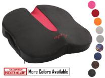 Argstar Coccyx Orthopedic Seat Cushion and Lumbar Support for Car Office Computer Chair Non-Slip Butterfly Premium Comfort Shape Memory Foam Cushion Suitable for Tailbone Sciatica and Back Pain Relief