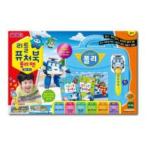 TOYTRON Robocar Poli Little Futurebook with Polipen. Designed to Help Developing Reading Skills of The Kids which are Best for Beginning Readers. Korean ver.