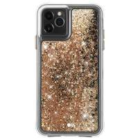 Case-Mate - iPhone 11 Pro Glitter Case - Waterfall - 5.8 - Gold