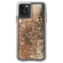Case-Mate - iPhone 11 Pro Max Glitter Case - Waterfall - 6.5 - Gold