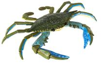 Safari Ltd. Incredible Creatures Blue Crab - Realistic Hand Painted Toy Figurine Model - Quality Construction from Phthalate, Lead and BPA Free Materials - For Ages 3 and Up