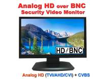 101AV19.5 Inch HD-TVI,AHD,CVI/CVB Analog HD 16:9 LED Security Monitor 1x HDMI & 2X BNC Video Inputs CCTV DVR Home Office Surveillance System