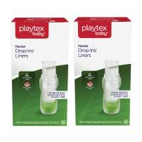Playtex Baby Nurser Pre-Sterilized Disposable Bottle Liners, Closer to Breastfeeding, 8 oz, 200 Count