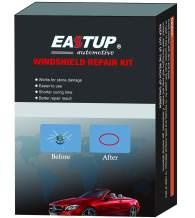 EASTUP Windshield Repair Kit Fix Stone Damage Chipped Windscreen Glass