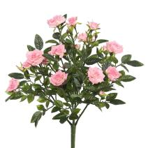 Vickerman FL171104 Floral Rose Bush