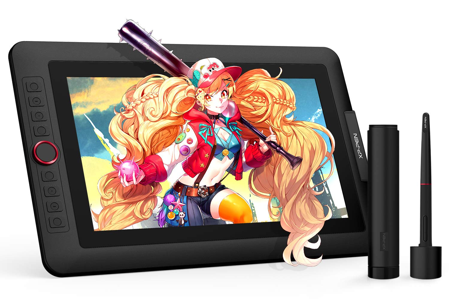 XP-PEN Artist13.3 Pro 13.3 Inch IPS Drawing Monitor Pen Display Full-Laminated Graphics Drawing Monitor with Tilt Function and 8 Shortcut Keys (8192 Levels Pen Pressure, 123% sRGB)