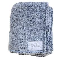 All the Feels Premium Sherpa Fleece Blanket, Throw, 50x60, Mood Indigo Lightweight Throw Blanket, Super Soft Cozy Blanket