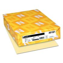 Wausau Exact Index Cardstock, 90 lb, 8.5 x 11 Inches, Pastel Ivory, 250 Sheets (49181)