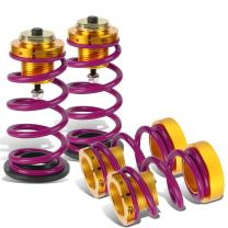 DNA MOTORING Purple COIL-HC06-PP Suspension Coilover Sleeve Kit [for 06-11 Honda Civic]