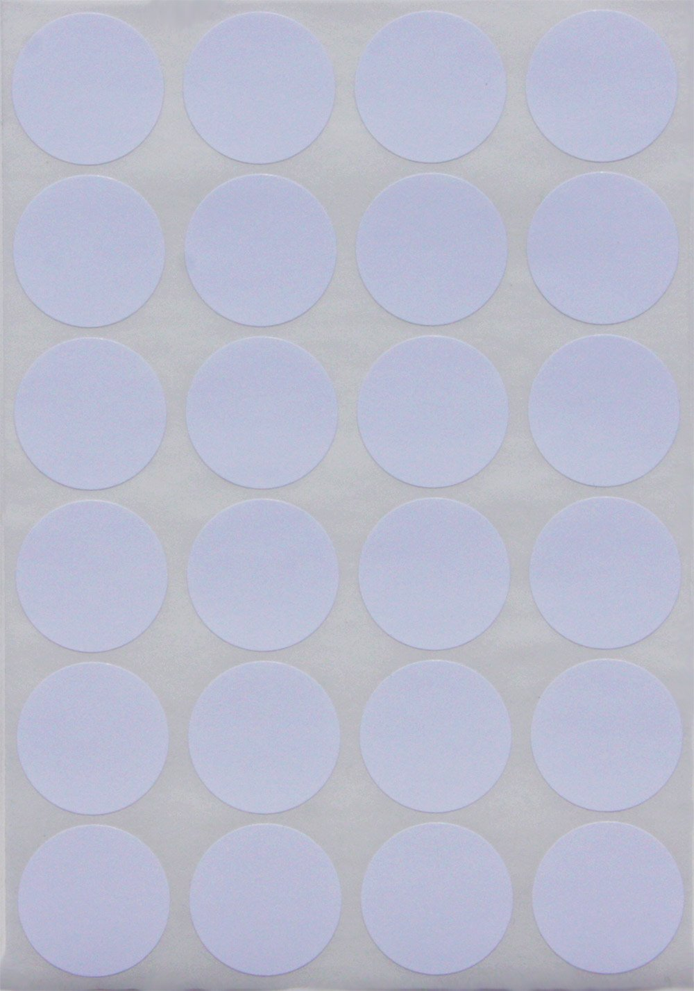 Royal Green White dot Stickers Round Labels - Circle Stickers 25mm - 360 Pack