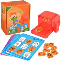 WloveTravel Board Games for Kids - Sight Words Game Matching The Pictures & Words- Educational Learning Toy Preschool Game for Kids- Reading Matching Toys for Kindergarten and Early Readers