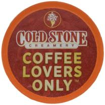 Cold Stone Creamery Single Serve Coffee In Recyclable Cups for All K Cup Brewers, Including The Keurig 2.0 Brewer (Coffee Lovers, 24) …, Coffee Lovers, 24Count