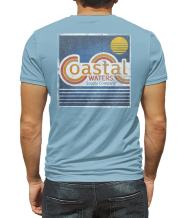 Coastal Waters Short Sleeve T-Shirt | 100% Soft & Comfortable Cotton Unisex Pocket Tee