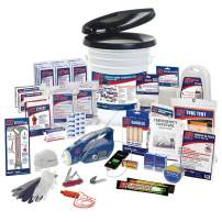 ER Emergency Ready 2 Person Ultimate Deluxe Survival Kit, SKH2DR