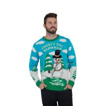 Frosty The Blowman Snowman Ugly Christmas Sweater