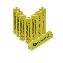 GEILIENERGY AA Size NiCd AA 600mAh 1.2V Rechargeable Batteries for Solar Lamp Solar Light(8 PCS)