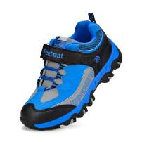 QANSI Boys Sneakers Waterproof Kids Tennis Running Hiking Shoes