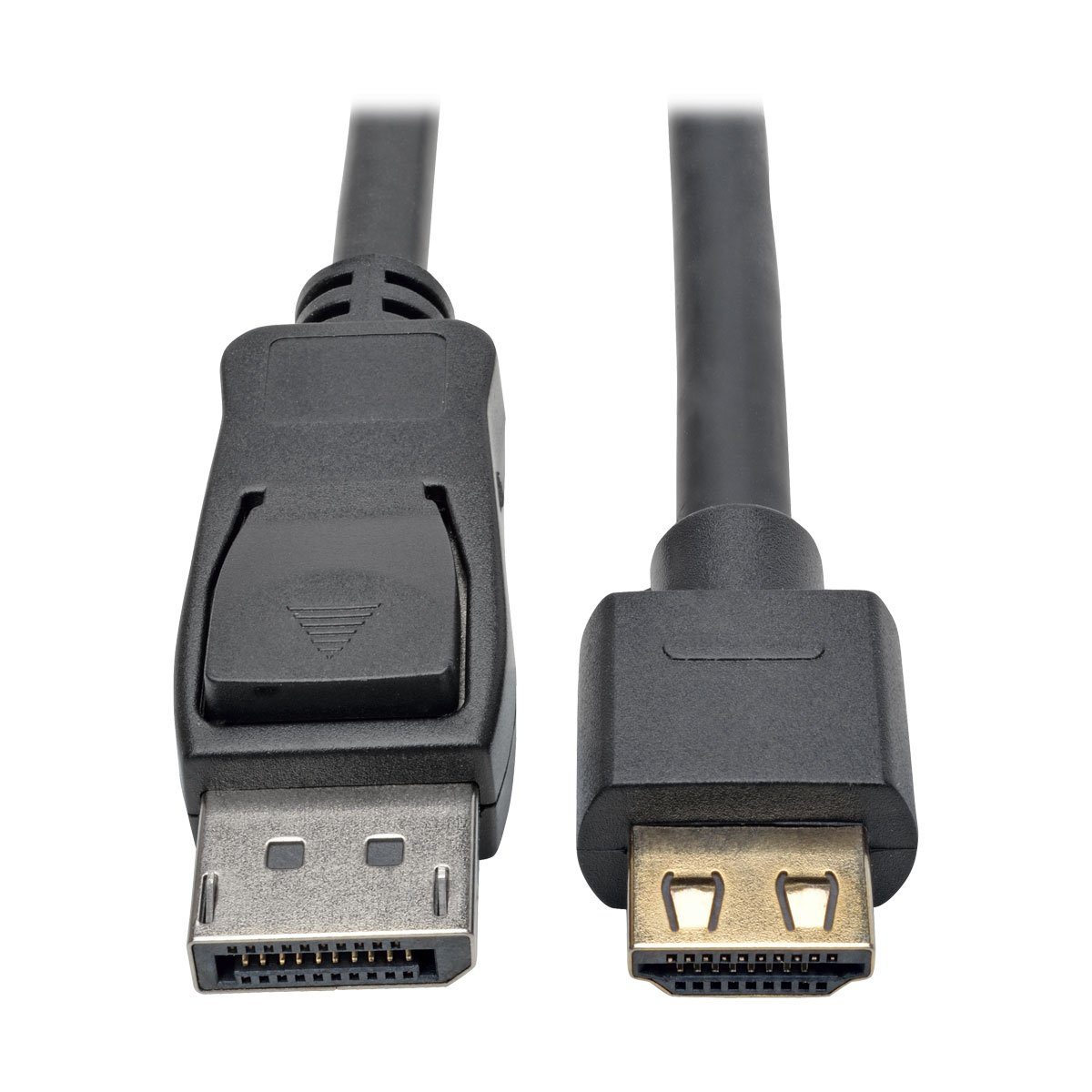 Tripp Lite DisplayPort 1.2a to HDMI Adapter Cable, Active with Gripping HDMI Plug M/M DP 4K, 10' (P582-010-HD-V2A)