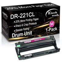 Compatible Magenta DR221CL Drum Unit DR-221CL Used for Brother MFC-9340CDW 9330CDW 9130CW HL-L3180CDW 3170CDW 3140CW DCP-9020CDN Printer (1-Pack), Sold by Etechwork