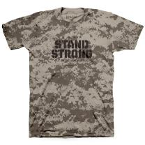 Kerusso Men's Stand Strong T-Shirt - Sand -