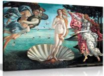 The Birth of Venus Painting by Sandro Botticelli Canvas Wall Art Picture Print (24x16in)
