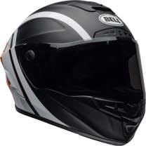 Bell Star MIPS Equipped Street Motorcycle Helmet (Tantrum Matte/Gloss Black/White/Orange, X-Large)