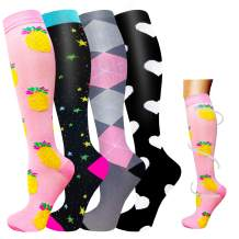 Graduated Medical Compression Socks Women Men-20-30 mmHg is Best for Circulation,Running,Athletic,and Travel,Pregnancy