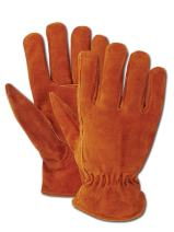 Magid TB441ET Men's Pro Grade Collection Fleeceined Suede Gloves, Large