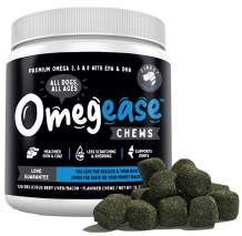 100% Pure Omega 3, 6 & 9 Fish Oil for Dogs and Cats. Supports Joint Function, Immune & Heart Health. All Natural EPA + DHA Fatty Acids for Skin & Coat. Made in USA