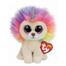 Claire's Official Ty Beanie Boo Soft Toys Plush Stuffed Animal Collectables (Layla The Lion Medium)