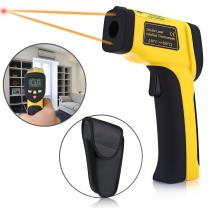 Digital Infrared Thermometer, Elegant Choise Temperature Gun Non-contact Digital Infrared IR Thermometer with LCD Backlit Adjustable Emissivity forCooking Automotive (-58℉~ 1202℉ / -50℃ ~ 650℃)