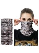 Aleumdr Seamless Face Cover Neck Gaiter for Outdoor Bandanas for Anti Dust Print Cool Women Men Windproof Scarf