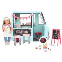 """Our Generation Dolls Sweet Stop Ice Cream Truck for Dolls, 18"""""""