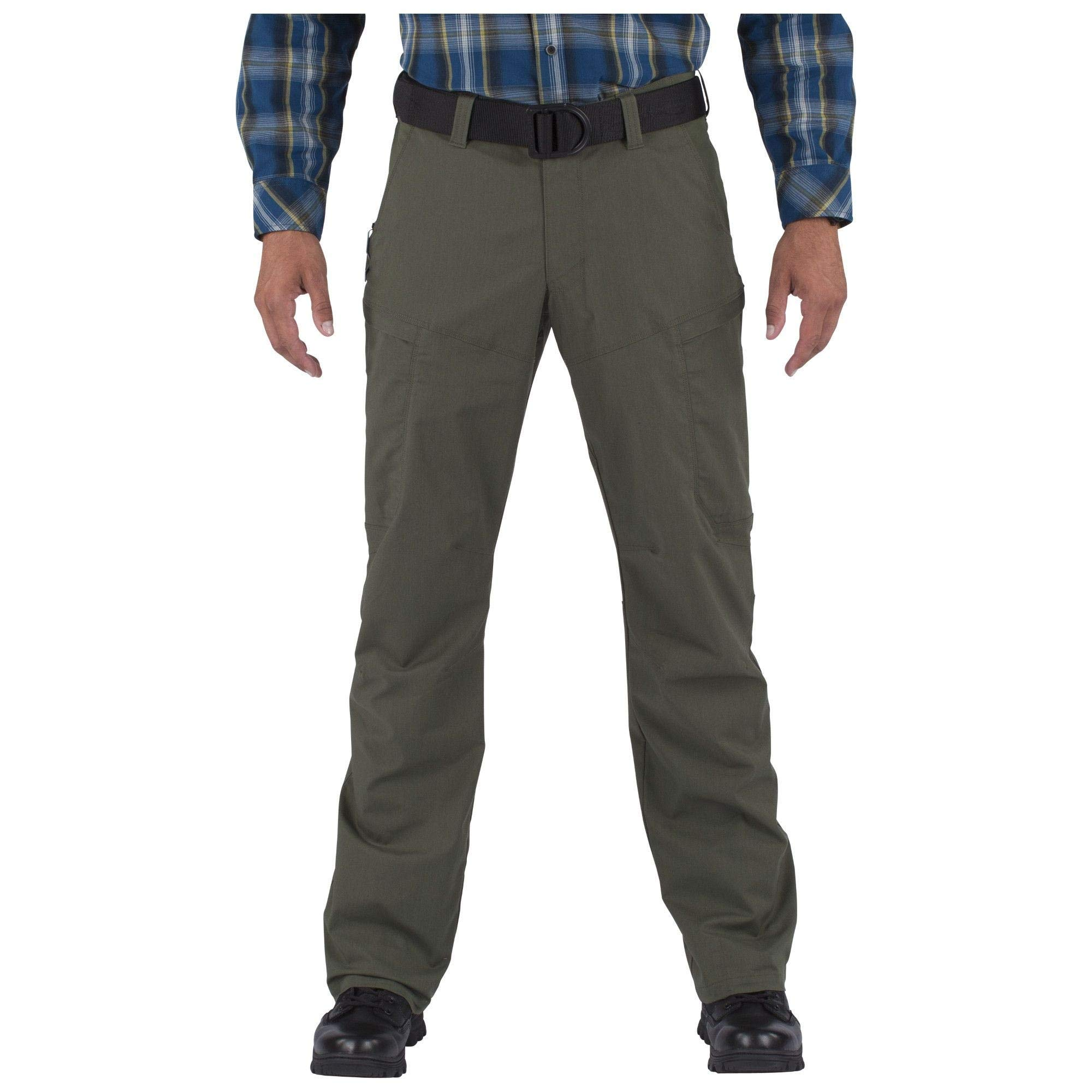 5.11 Tactical Men's Apex Cargo Work Pants, Flex-Tac Stretch Fabric, Gusseted, Teflon Finish, Style 74434