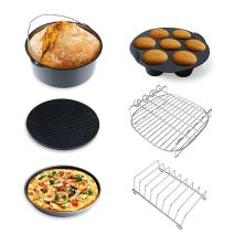 XL Air Fryer Accessories XL for Gowise Philips Cozyna, Set of 6, Fit for All 4.5QT, 5.3QT-5.8QT Airfryer