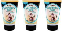 Anti Monkey Butt Baby Diaper Rash Cream | Treats Skin Irritation | Zinc Oxide Cream with Calamine | 3 Ounces | Pack of 3