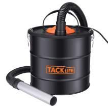 TACKLIFE Ash Vacuum, 5 Gallon 800 W 6 Peak hp Ash Vac, 1.2M Metal Hose, 5M Power Cord, Portable Debris/Dust/Ash Collector, Suitable for Fireplaces, Fire Pits, BBQ Grills, Coal Stoves - PVC03A