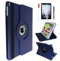 IPad 6th/ 5th Generation Case IPad Model A1893 A1954 Case for iPad 9.7 Inch 2017/2018 360 Degree Rotating Cover Case with Wake/Sleep Function Royal Blue