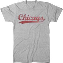 Chicago Swoosh Men's Modern Fit Tri-Blend T-Shirt