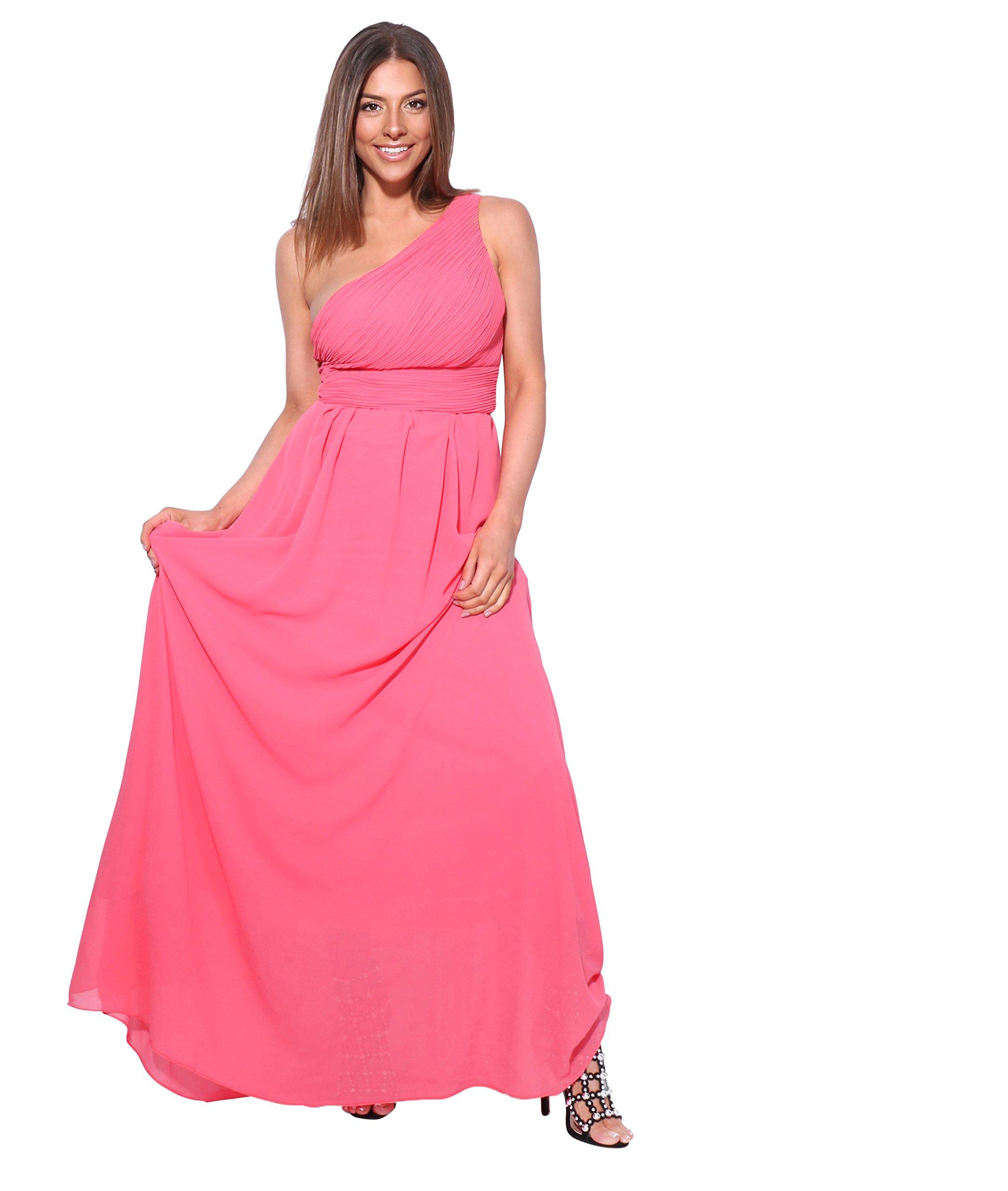 KRISP Womens Prom Maxi Dress Wedding Bridesmaid Evening Cocktail Dresses Plus Size