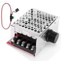 PWM DC Motor Speed Controller,PEMENOL PWM 7-70V 30A Speed Control Switch Adjustable PWM Motor Speed Regulator with Amp Fuse