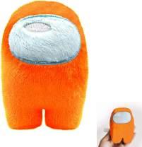 VWMYQ Among Game Plush Toy, Super Stuffed Cute Among Astronaut Merch Animals Toys Cosplay Anime Plush Doll Toy for Home Sofa Decor (Orange)