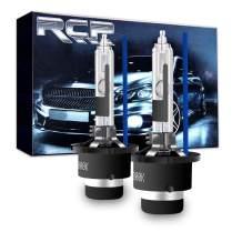 RCP - D4R8 - (A Pair) D4R 8000K Xenon HID Replacement Bulb Ice Blue Metal Stents Base 12V Car Headlight Lamps Head Lights 35W