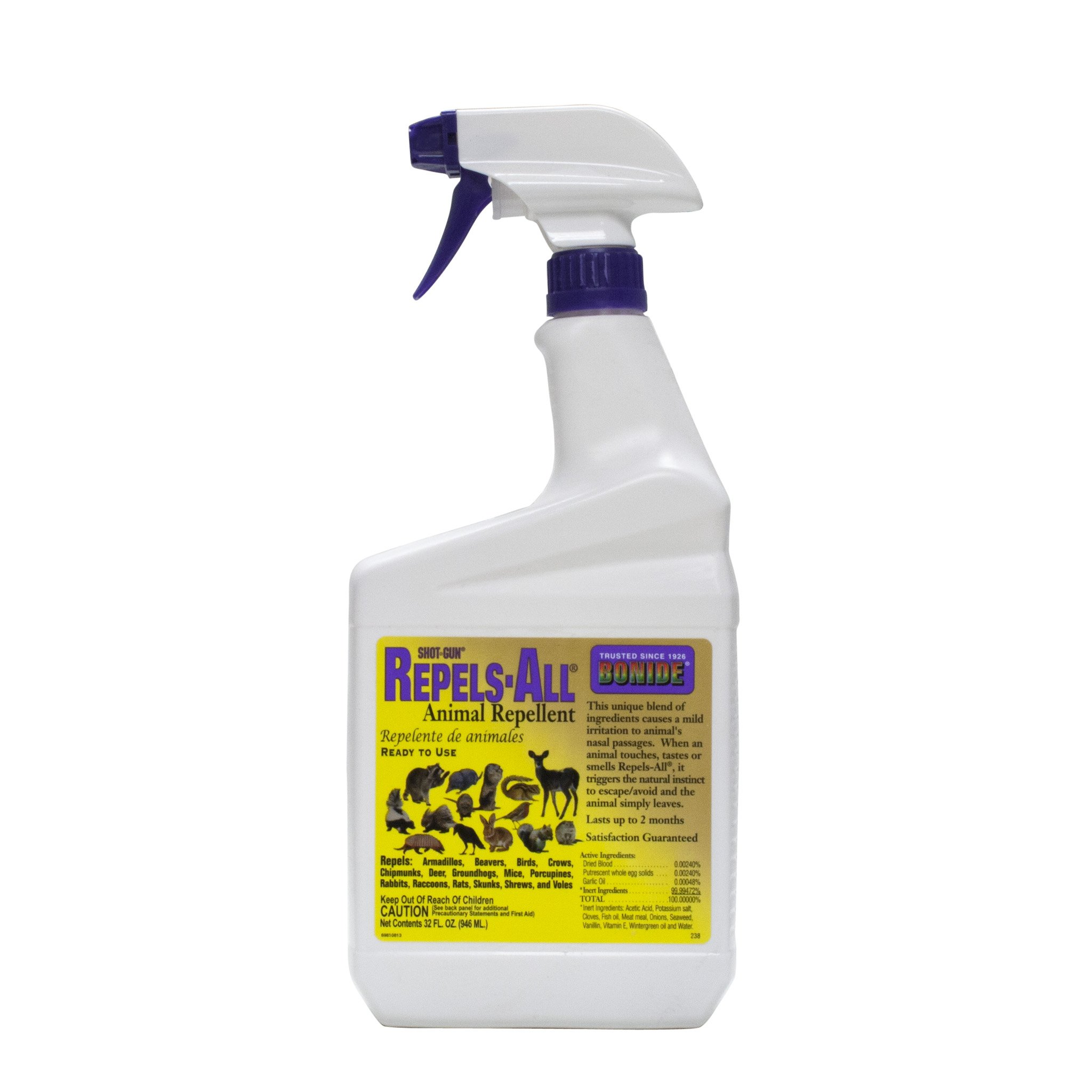 Bonide (BND238) - Repels-All Ready to Use Animal Repellent (32 fl oz.)